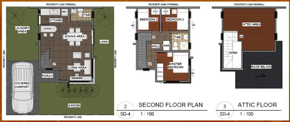 Index of picturesAMARESAHouseandLotinSanJoseDelMonte – City House Floor Plans