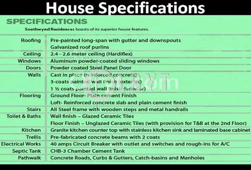 Wonderful House Specifications #2: JPG · House Specs .